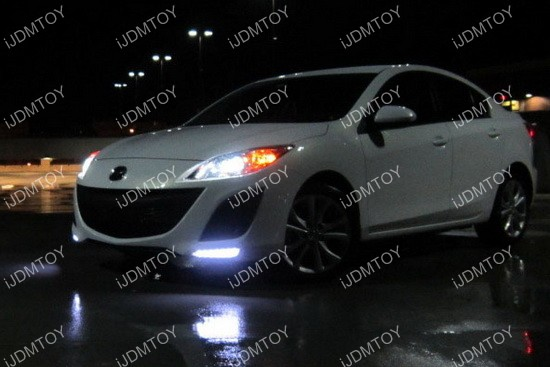 Mazda3 LED Daytime Running Lights