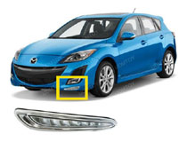Mazda3 OEM Fit LED Daytime Running Lights Installation (For 70-731)