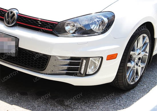 2009-2012 Volkswagen Mk6 GTi LED Daytime Running Lights