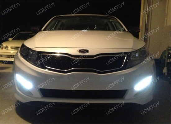 Kia Optima K5 LED Daytime Running Lights