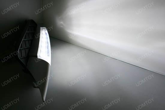Bolt-On High Power LED Daytime Running Lights For 2007-2010 BMW X5