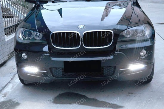 18w High Power Led Daytime Running Lights For Bmw E70 X5