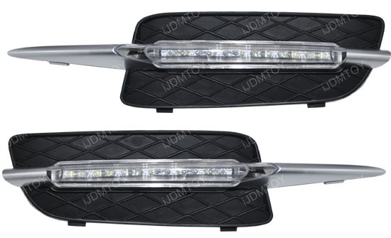 18W High Power LED Daytime Running Lights Assembly For 2007-2010 BMW E70 X5