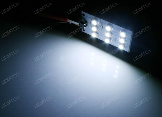 9-SMD LED Lights For Audi Side Door Courtesy Lights