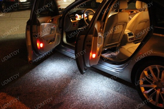 Mercedes C Clk Slk Slr Led Side Door Courtesy Foot Area Lights