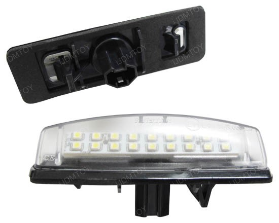 Lexus Toyota Direct Fit LED License Plate Lamps