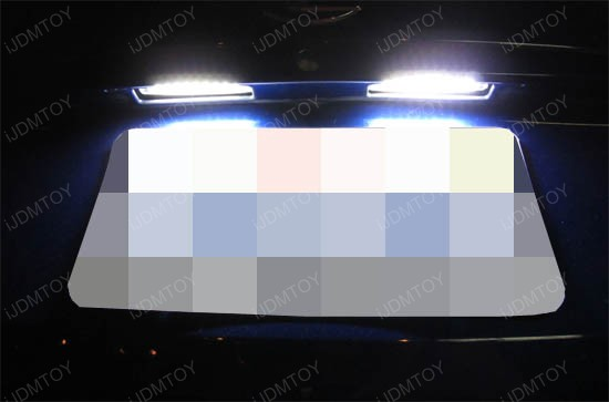 Direct Fit LED License Plate Lamps