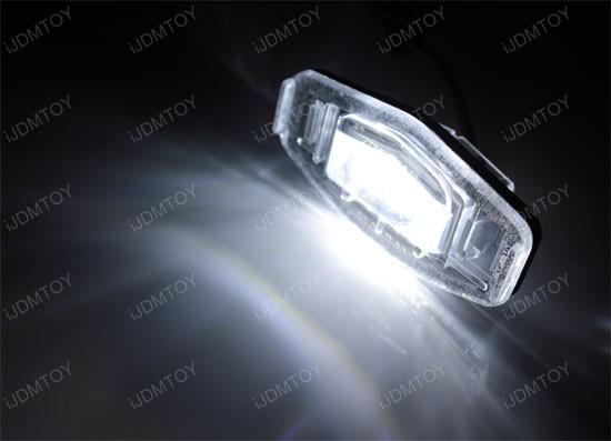 Honda Civic Accord LED License Plate Lamps
