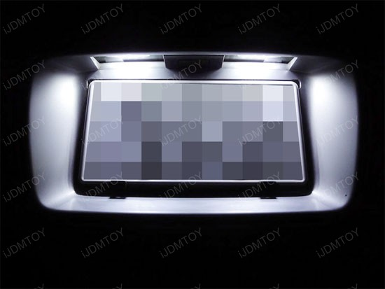 Nissan 350Z 370Z Infiniti G37 G35 LED License Plate Lamps