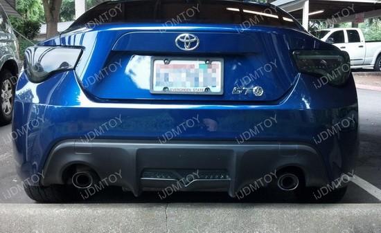 Scion FR-S Subaru BRZ LED Rear Bumper Light | Backup Brake Rear Fog