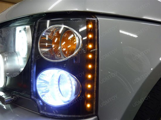 Error Free P21W 1156 1157 LED Bulbs Range Rover