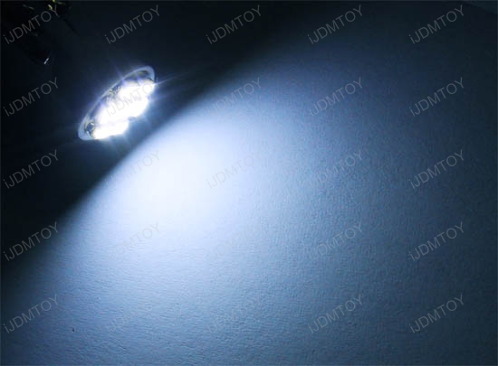 8-SMD 1206 2825 LED Wedge Light Bulbs