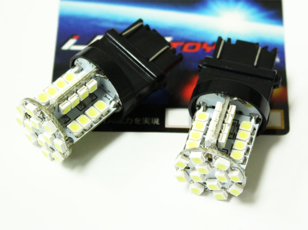 40-SMD 3156 3157 LED Indicator Turn Signal Light Bulbs