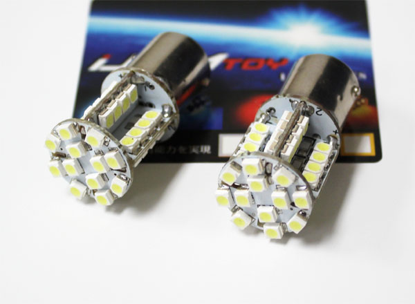 40-SMD 1156 or 1157 LED bulbs