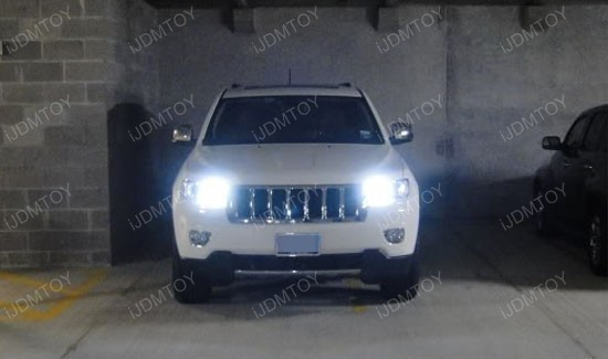 6k Hid White 33 Smd Led For 2011 Amp Up Jeep Grand Cherokee