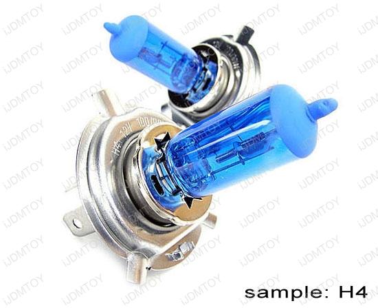 JDM Super White Halogen Xenon Bulbs. Size: H1 H3 H4 H7 H8 H10 H11 H13 9004 9005 9006 9007, 880
