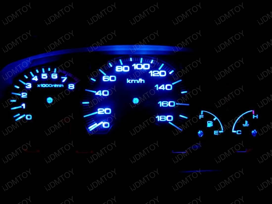 T5 T4 LED Wedge Light Instrument Cluster Dash Lights