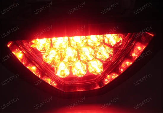F1 Style Diffuser Brake Light Lamp