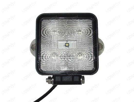 High Power 15W 1200LUM+ 12V/24V Heavy Duty LED Work Light, Daytime Running Light (1 piece)