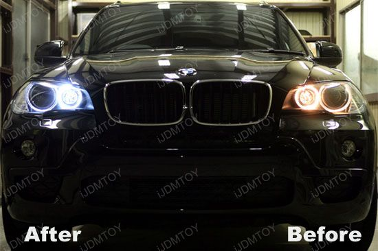 Error Free BMW Angel Eyes H8 Ring Marker LED Bulbs