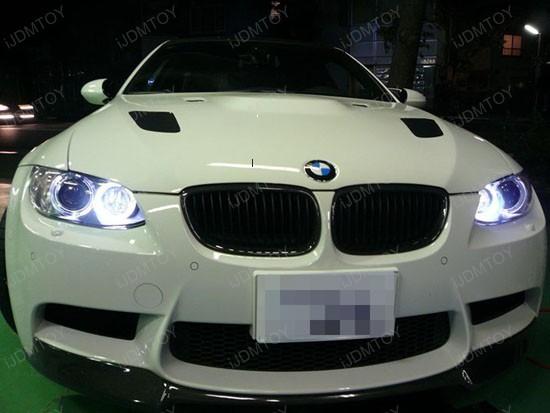 Error Free BMW Angel Eyes H8 LED bulbs