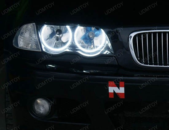Bmw E46 3 Series W Non Hid Halogen Headlight Smd Led