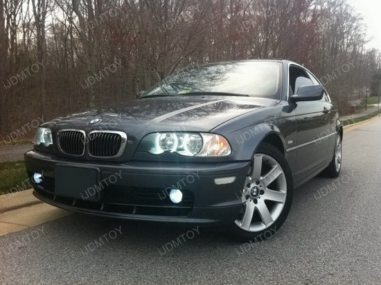 bmw e46 3 series w non hid halogen headlight smd led. Black Bedroom Furniture Sets. Home Design Ideas