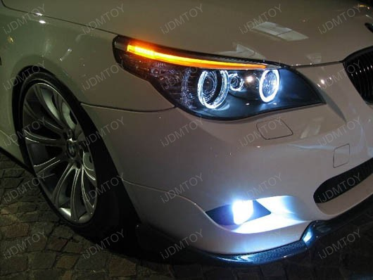 Bmw Headlights Bmw Angel Eyes Led Marker Bulbs Bmw 5 6