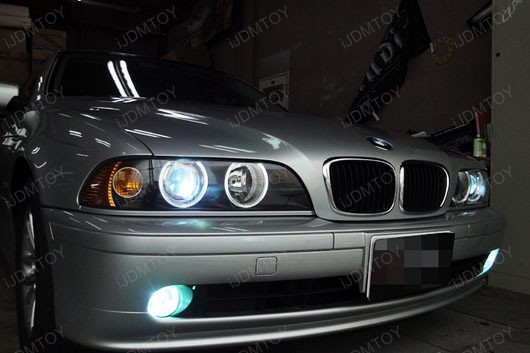 E on Bmw E39 Angel Eye Headlights