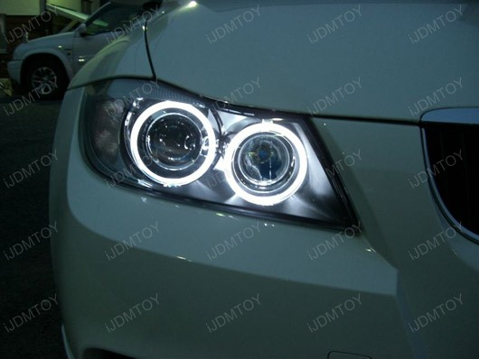 Install BMW E90 3-Series LED Angel Eyes
