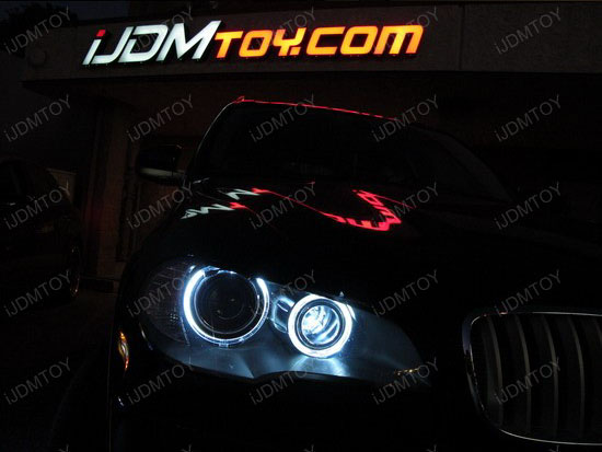 Error Free BMW Angel Eye H8 Ring Marker LED Bulbs