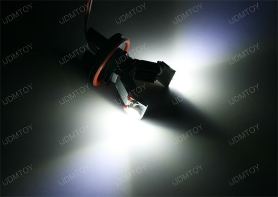 Error Free BMW Angel Eyes H8 LED bulbs