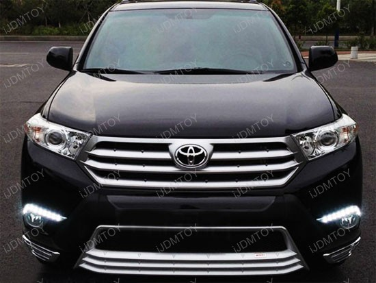 2011-2013 Toyota Highlander LED Daytime Running Lights