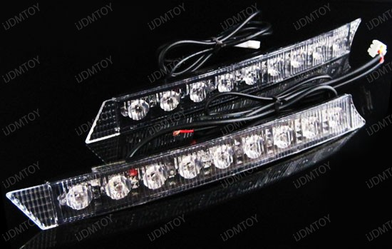 Audi A6 Style 9 LED Daytime Running Lights