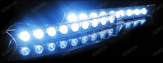 9 LED Daytime Running Lights DRL Kit