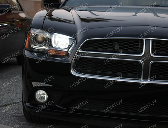 2011 and up Dodge Charger LED Daytime Running Lights