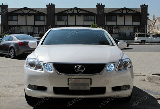 9005 Led Bulbs With Decoder Lexus Is Gs Ls Rx Daytime