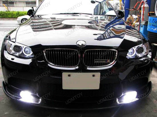 New!!! Oval Shape Xenon White 3W High Power LED Daytime Running Light (DRL) Lamps (aka LED Day Driving Lamps)