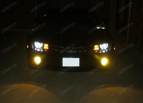 JDM Golden Yellow Super Bright Halogen Bulbs For Fog Lights DRL