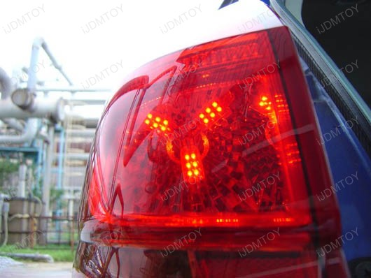 24-SMD SpiderLite LED Bulbs Tail Break Stop Light