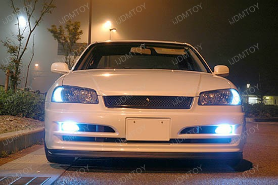iJDMTOY Xenon White LED Bulbs