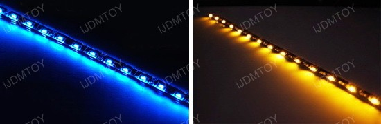 Audi style LED strip lights