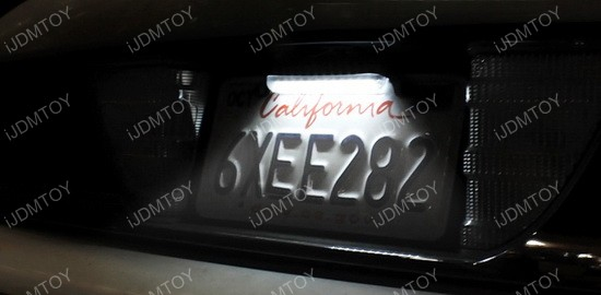 Bolt-On LED license plate lights