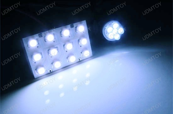 LED Panel Map Dome Interior Lights