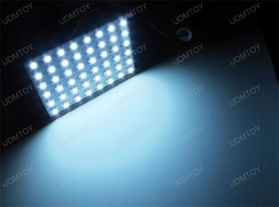 48smd led interior light panel dome map lights