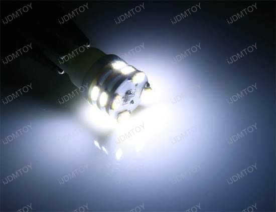 12-SMD T10 Wedge Light LED Bulbs 158 168 194 2825 2827