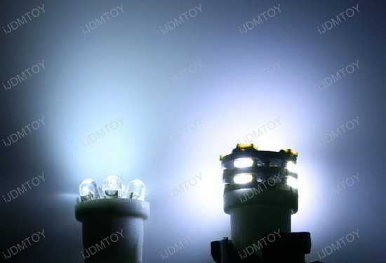 12-SMD 2825 168 194 LED Bulbs for License Plate Lights