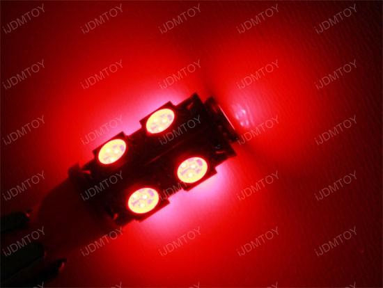 9-SMD 1210 168 2825 T10 LED Bulbs