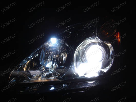 5-SMD H6W BA9 LED Bayonet LED Bulbs for Dome Llights