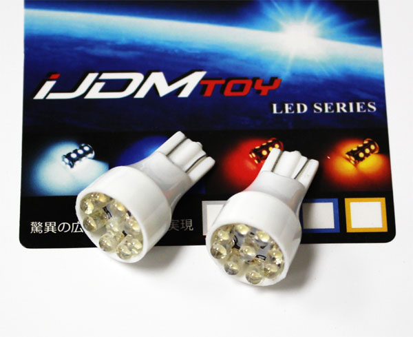 9-LED T15 LED Wedge Light Bulbs